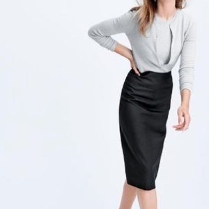 J Crew Super 120s Pencil Skirt